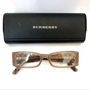 Burberry Eyeglasses 2080 3166 Beige Plaid